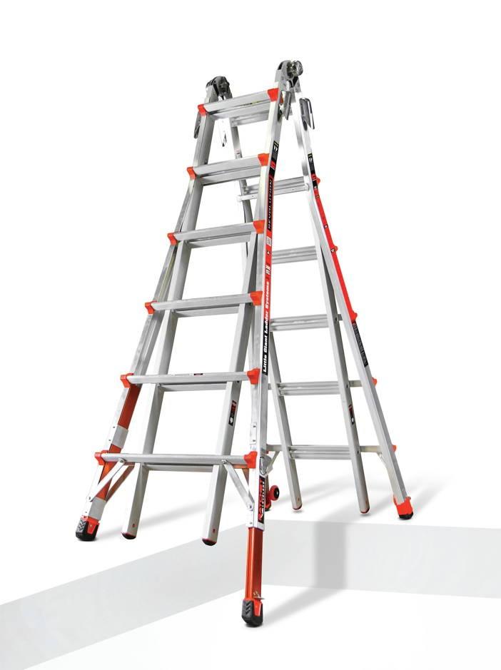 Model 26 Little Giant Revolution Ladder W Dual Ratchet