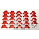 Complete Rung Cap set for Little Giant Ladder Type 1A, 1AA 31552