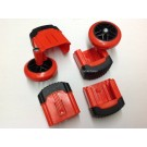 Revolution and Xtreme Complete Snap Foot / Wheel Kit