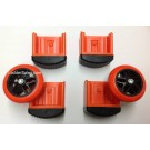 Outer Snap Foot / Wheel Kit for Alta One Ladder