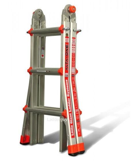 Type1 Alta-One Little Giant Ladder M-13 w/ Work Platform