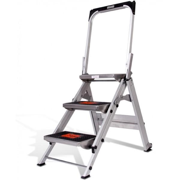 Little Giant Safety Step Stepladder (Little Jumbo) 3 Step #10310BA