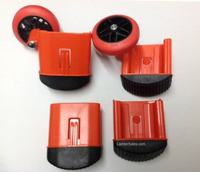Little Giant Dark Horse Complete Snap Foot Wheel Kit 31298 Laddersales Com