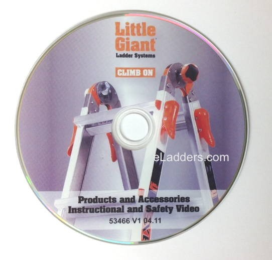 Little Giant Ladder Instructional and Safety Video DVD
