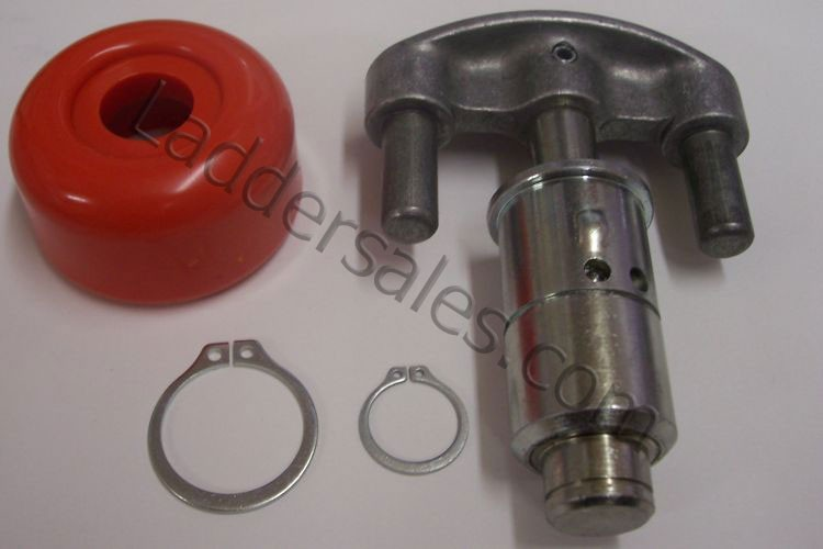 Palm Button Hinge Lock Assembly (includes snap rings) - 20425/31068