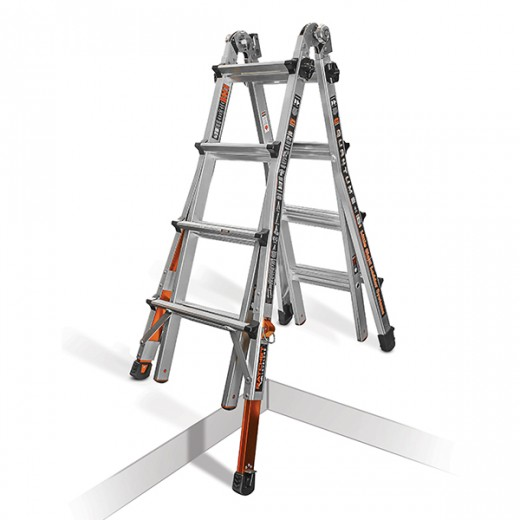 Little Giant Quantum M17 With Ratcheting Levelers