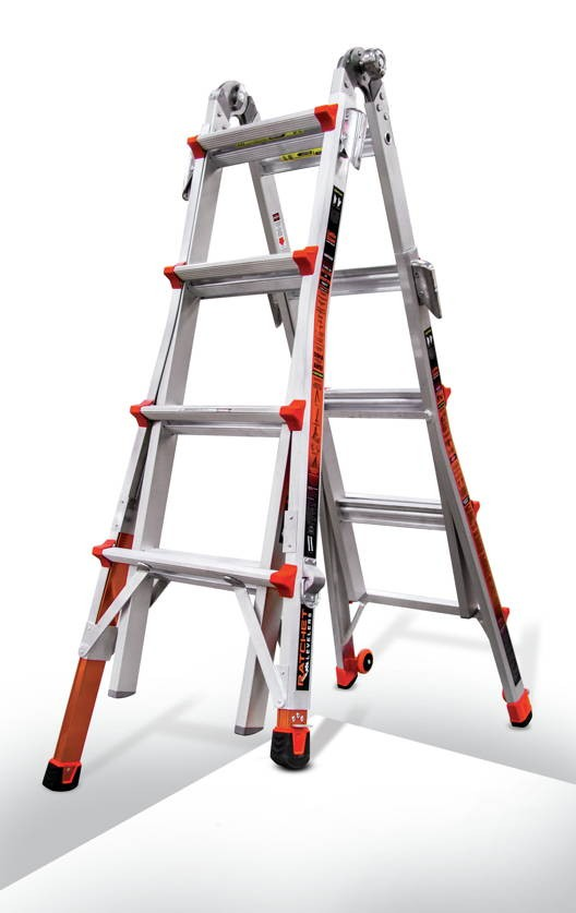 Model 17 Little Giant Revolution Ladder w/ Dual Ratchet Levelers