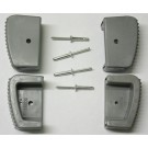 Type 1/Type II Outer Foot Assembly Kit (includes 2 Left & 2 Right Feet, 4 Rivets) - 20162/30098